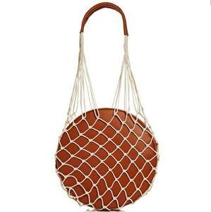 Bloomingdale's Bags - Woven Round Shoulder Bag
